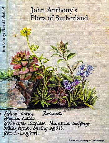 John Anthony's Flora of Sutherland cover